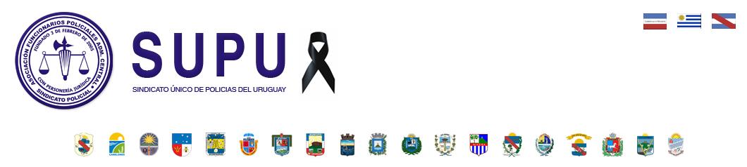 Sindicato Único de Policias del Uruguay (SUPU) headlogo